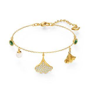 Swarovski Stunning Ginkgo Bracelet - Gold-tone Plating