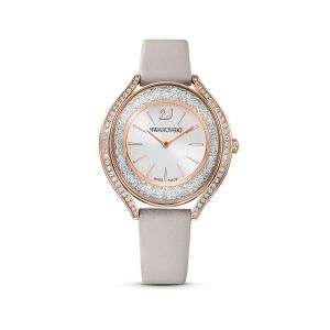 Swarovski Crystalline Aura Ladies Watch Gray