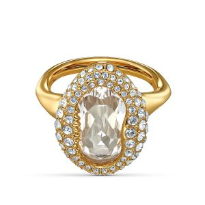 Swarovski Shell Ring - Gold-Tone Plating