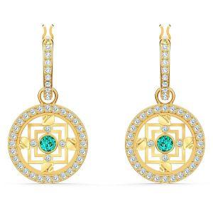 Swarovski Symbolic Mandala Hoop Earrings