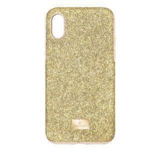 Swarovski High Smartphone Case with Bumper - iPhone X/XS - Gold tone - 5522086