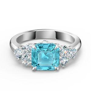 Swarovski Sparkling Aqua Ring 5524141
