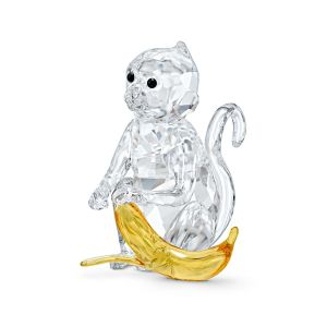 Swarovski Rare Encounters Monkey with Banana 5524239