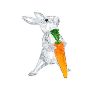 Swarovski Crystal Peaceful Countryside Rabbit with Carrot 5530687