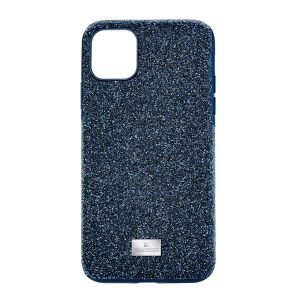 Swarovski High Smartphone Case, iPhone 11 Pro Max, Blue
