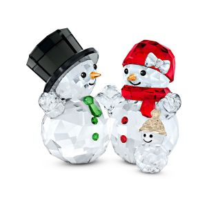 Swarovski Crystal Snowman Family 5533948