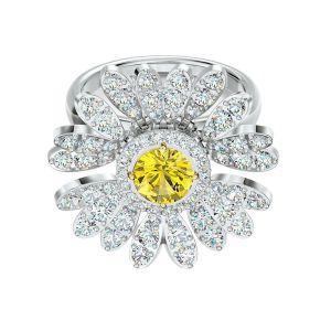 Swarovski Eternal Flower Movable Ring - Mix - 5534936