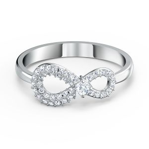 Swarovski Infinity Ring - Rhodium Plated 5535404 - 5520580 - 5535401