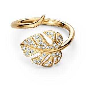 Swarovski Tropical Ring - Gold-tone Plating