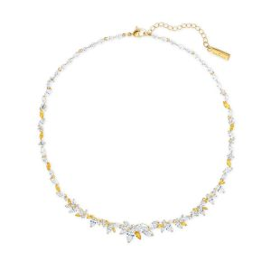 Swarovski Botanical Necklace - Gold-tone Plated - 5535775