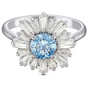 Swarovski Anniversary Sunshine Ring 2020 - Blue and White