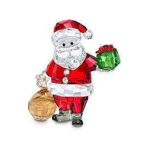 Swarovski Crystal Santa Claus with Gift Bag Ornament 5539365