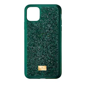 Swarovski Glam Rock Smartphone Case - iPhone 11 Pro - Emerald Green  5549939