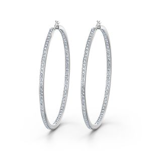 Swarovski Rare Hoop Pierced Earrings 5555724