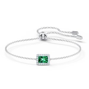 Swarovski Angelic Rectangular Bracelet - Green 5559836