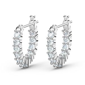 Swarovski Vittore Mini Hoop Earrings 5562126