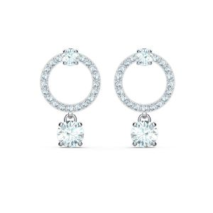 Swarovski Attract Circle Pierced Earrings 5563278