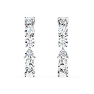 Swarovski Tennis Deluxe Pierced Earrings 5563322