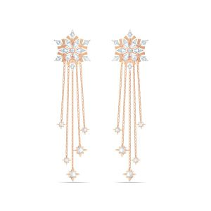 Swarovski Magic Pierced Earrings - Rose Gold Plating 5566674