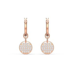 Swarovski Ginger Mini Hoop - Rose Gold Plating 5567528