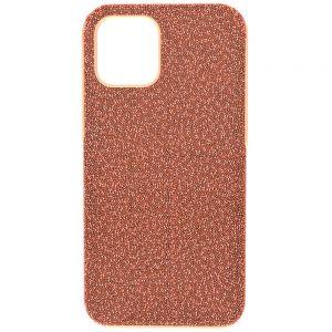 Swarovski High Smartphone Case - iPhone 12/12 Pro - Rose 5616366