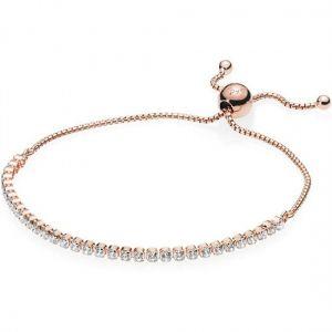 Pandora Rose Sparkling Slider Tennis Bracelet 589375C01