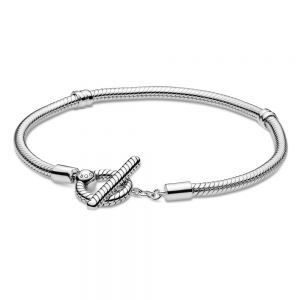 Pandora Moments T-Bar Snake Chain Bracelet 599082C00
