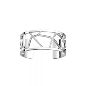 Les Georgettes Girafe Bracelet - 25mm Silver and Zirconia