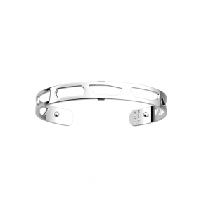 Les Georgettes Girafe 8mm Silver Finish Bangle - Large