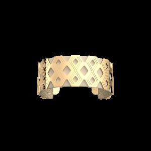 Les Georgettes Pavillon 25mm Gold Finish Bangle