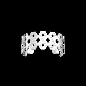 Les Georgettes Pavillon 25mm Silver Finish Bangle