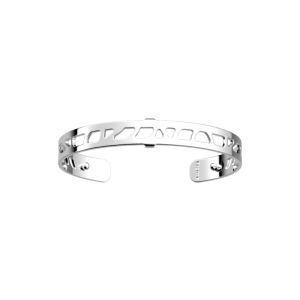 Les Georgettes Perroquet 8mm Silver Finish Bangle 70341711600000