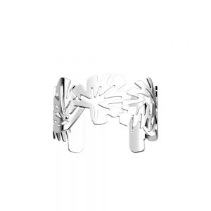 Les Georgettes Monstera Bracelet - 25mm Silver Finish 70347331600000