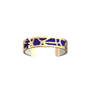 Les Georgettes Fleurs du Nil Bangle Cuff - 14mm - Gold Finish 703549201