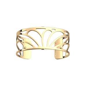Les Georgettes Rosee 25mm Gold Finish Bangle
