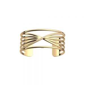 Les Georgettes Louxor Bracelet - 25mm Gold and Zirconia