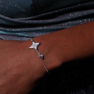 Kit Heath Empire Astoria Starburst Grande CZ Star Toggle Bracelet 70412CZ