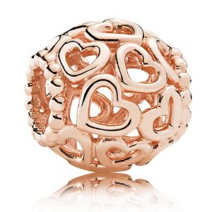 Pandora Rose Hearts All Over Charm 780964