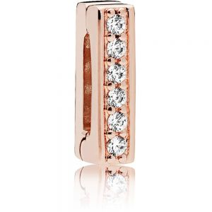 Pandora Reflexions Sparkling Clip Charm - Rose Gold 787633CZ