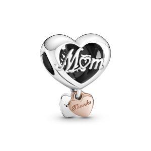 Pandora Thank You Mum Heart Charm 789372C00