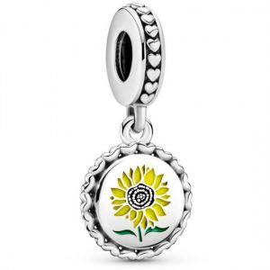 Pandora Sunflower Love For All Dangle Charm 792018C00_E030