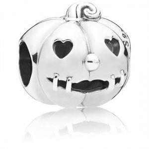 Pandora Pumpkin Halloween Charm 797596