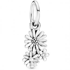 Pandora Daisy Flower Bouquet Dangle Charm 798819C00