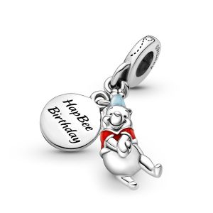 Pandora Disney Winnie the Pooh Birthday Dangle Charm 799385C01