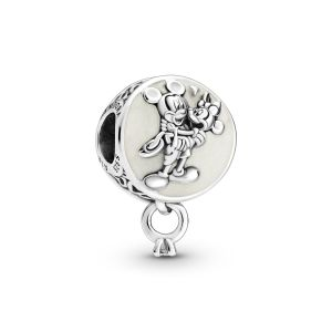Pandora Disney Mickey Mouse and Minnie Mouse Eternal Love Charm