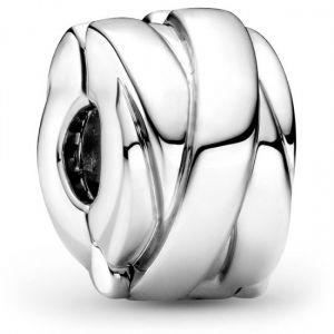 Pandora Polished Ribbons Clip Charm-799502C00