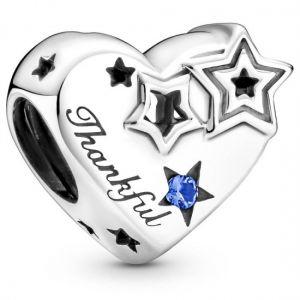 Pandora Thankful Heart & Stars Charm