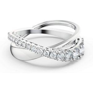 Swarovski Twist Ring - Rhodium Plating - 5572718 5572724
