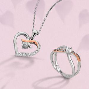 Clogau Clogau Kiss Ring - Size K - 3SCGKR-K