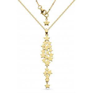 Kit Heath Stargazer Galaxy Gold Plate Necklace 90213GD027